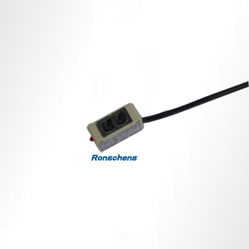 1:槽型光电传感器   把一个光发射器和一个接收器